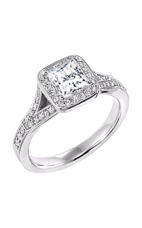 Goldman White Gold Engagement Ring 31-547ECW-E product image