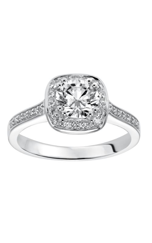 Goldman White Gold Engagement Ring 31-549ERW-E product image
