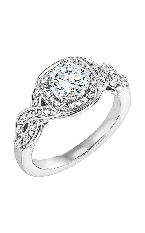 Goldman White Gold Engagement Ring 31-550ERW-E product image