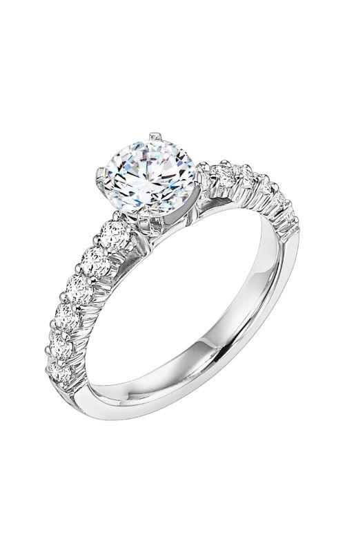 Goldman White Gold Engagement Ring 31-513ERW-E product image
