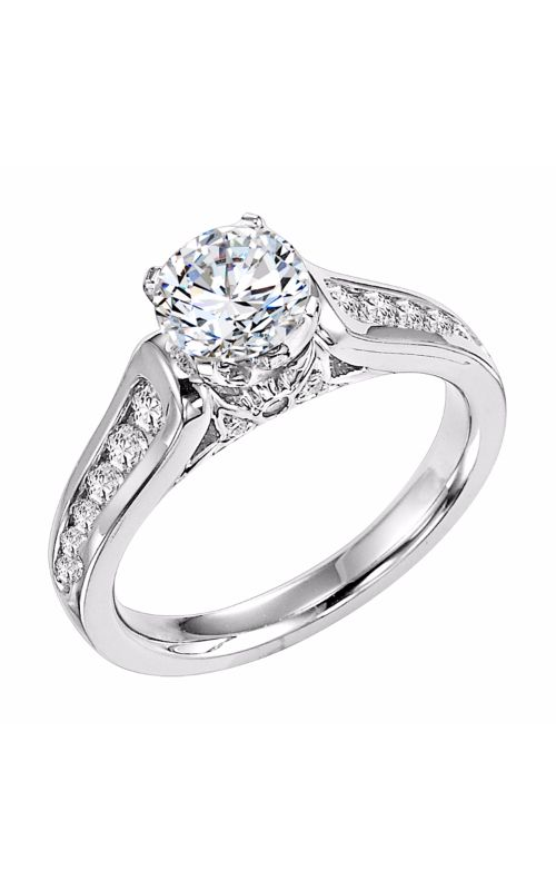 Goldman White Gold Engagement Ring 31-560ERW-E product image