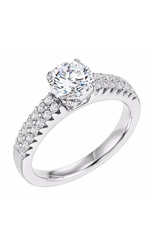 Goldman White Gold Engagement Ring 31-563ERW-E product image