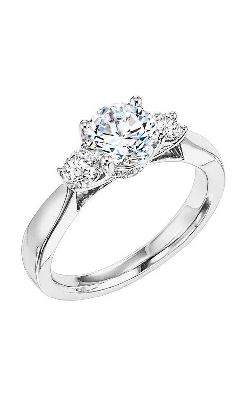 Goldman White Gold Engagement Ring 31-568ERW-E product image