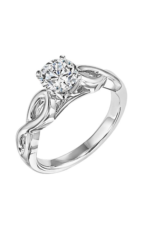 Goldman White Gold - A Engagement Ring 31-586ERW-E product image