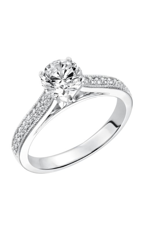 Goldman White Gold - A Engagement Ring 31-615ERW-E product image