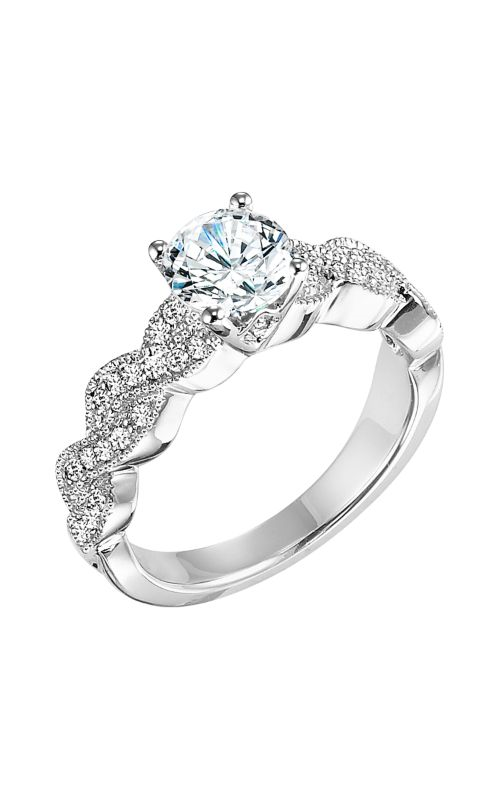 Goldman White Gold - A Engagement Ring 31-631ERW-E product image