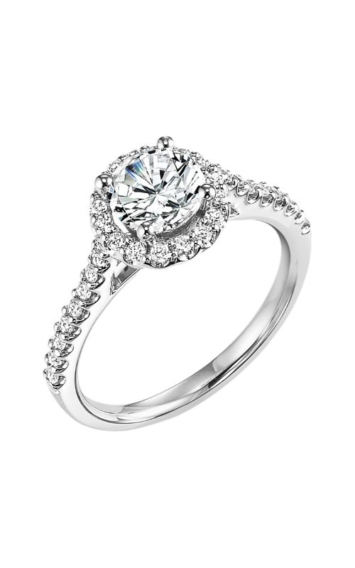 Goldman White Gold - A Engagement Ring 31-641ERW-E product image