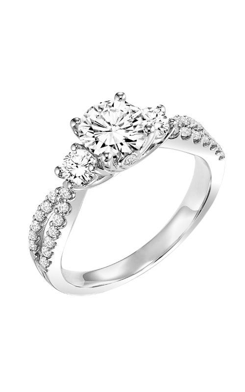 Goldman Contemporary Engagement Ring 31-646ERW-E product image