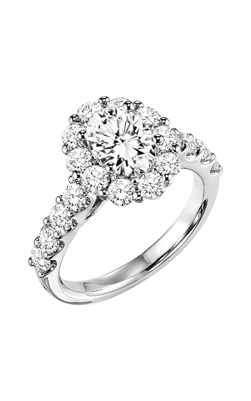 Goldman White Gold - A Engagement Ring 31-651EVW-E product image