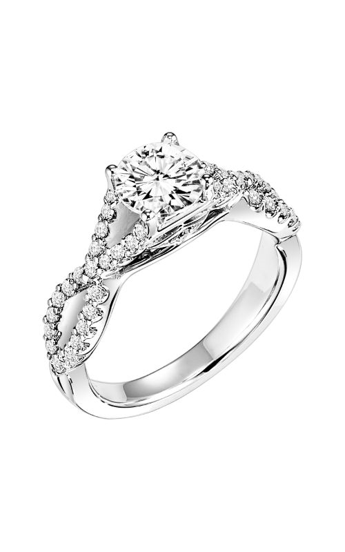 Goldman White Gold - A Engagement Ring 31-652ERW-E product image