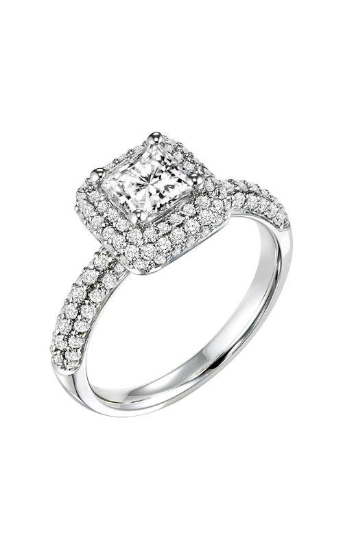 Goldman White Gold - A Engagement Ring 31-682ECW-E product image