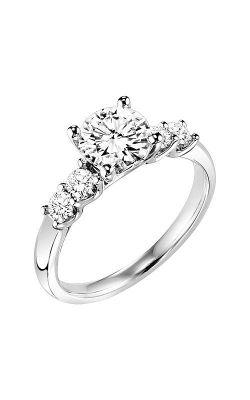 Goldman White Gold - A Engagement Ring 31-692FRW-E product image