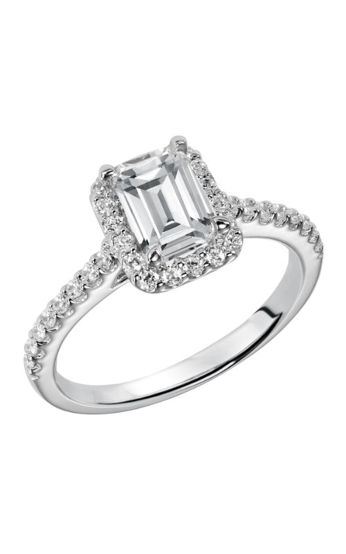 Goldman White Gold - A Engagement Ring 31-799EEW-E product image