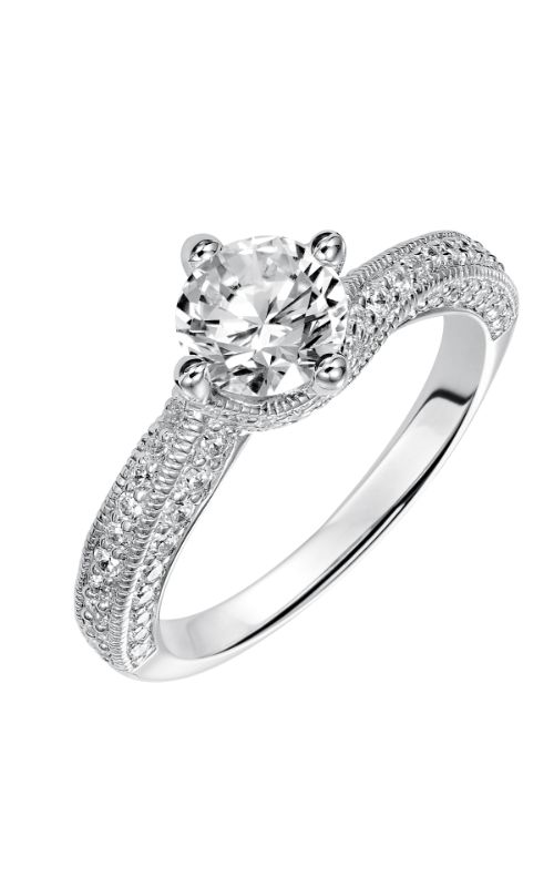 Goldman White Gold - A Engagement Ring 31-713ERW-E product image