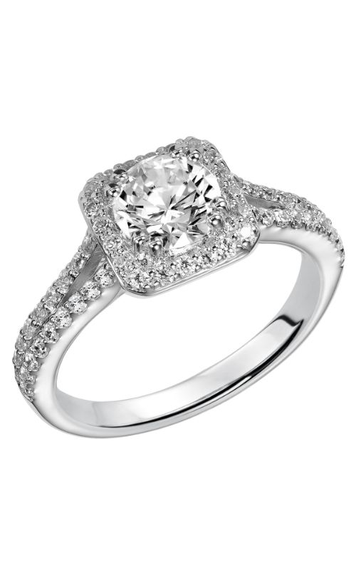 Goldman White Gold - A Engagement Ring 31-754ERW-E product image