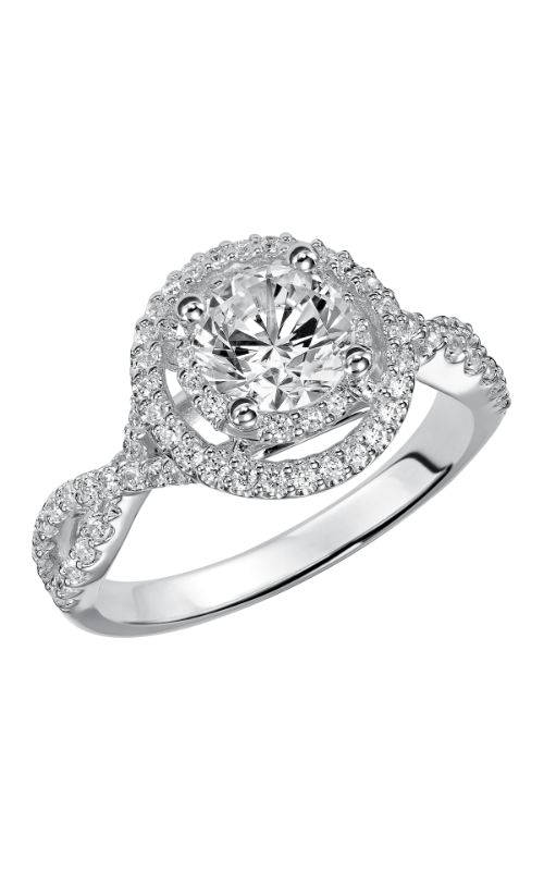 Goldman White Gold - A Engagement Ring 31-760ERW-E product image