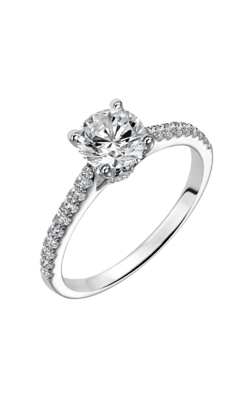 Goldman White Gold - A Engagement Ring 31-780ERW-E product image
