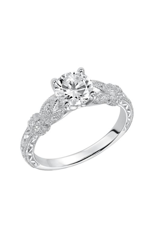 Goldman White Gold Engagement Ring 31-810ERW-E product image