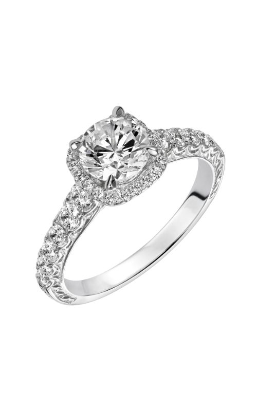 Goldman White Gold - A Engagement Ring 31-820ERW-E product image