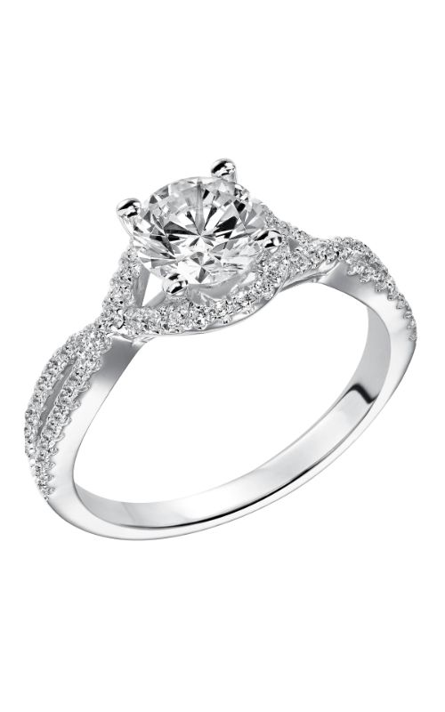 Goldman White Gold - A Engagement Ring 31-831ERW-E product image
