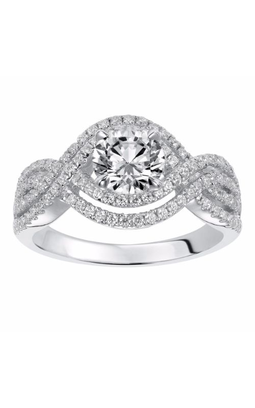 Goldman White Gold - A Engagement Ring 31-832ERW-E product image
