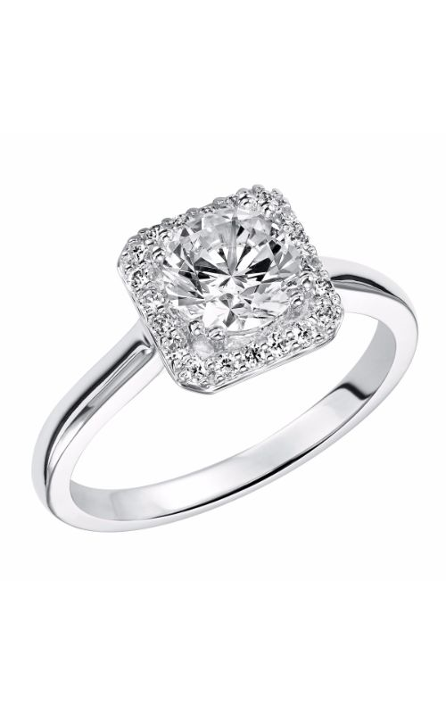 Goldman White Gold - A Engagement Ring 31-837ERW-E product image