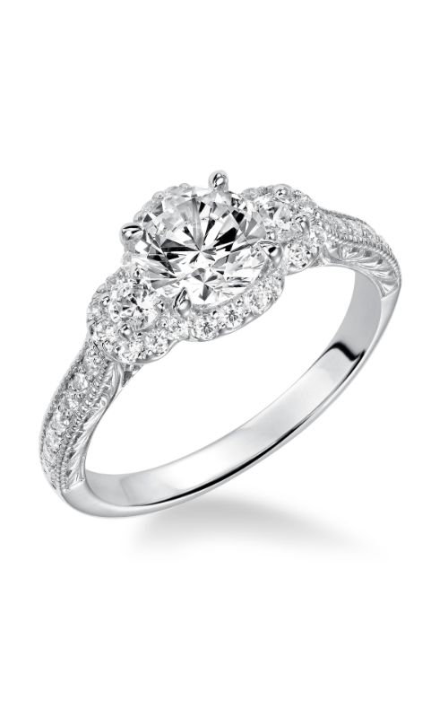 Goldman White Gold - A Engagement Ring 31-870ERW-E product image