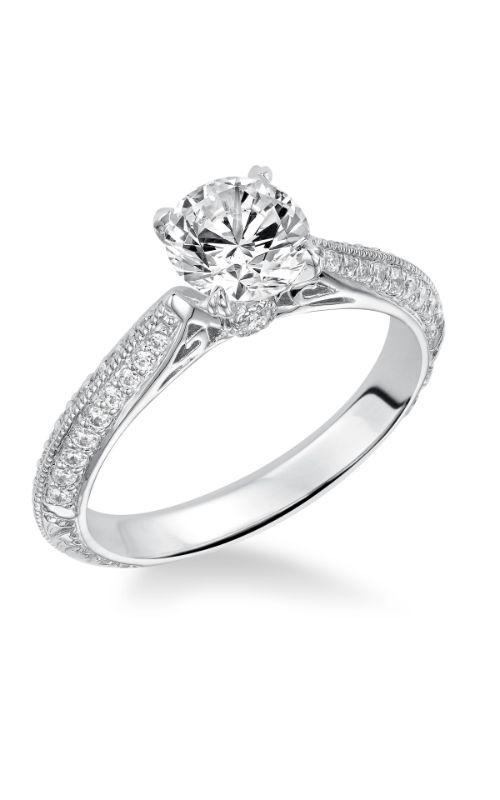 Goldman White Gold - A Engagement Ring 31-871ERW-E product image