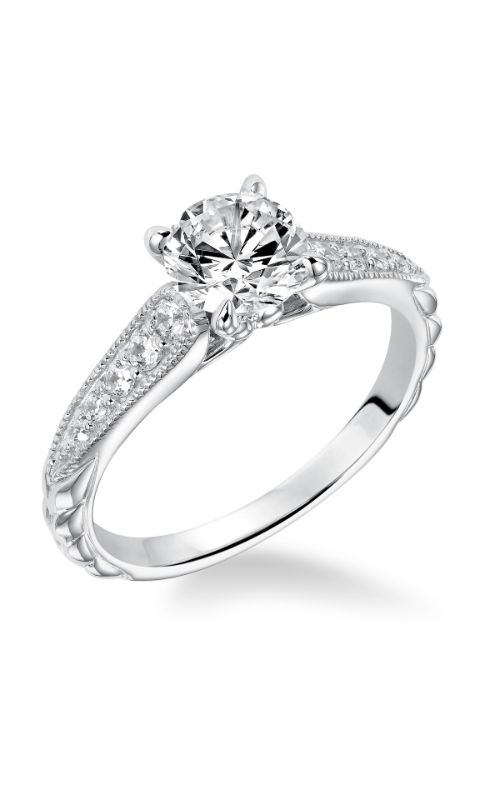 Goldman White Gold - A Engagement Ring 31-874ERW-E product image
