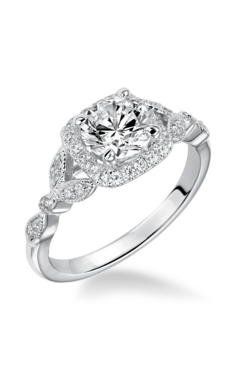 Goldman White Gold - A Engagement Ring 31-879ERW-E product image