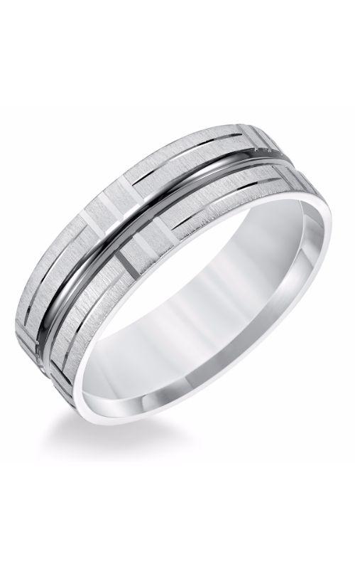 Goldman Engraved Wedding Band 11-8579W7-G product image