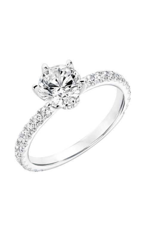 Goldman White Gold Engagement Ring 31-11001ERW-E product image