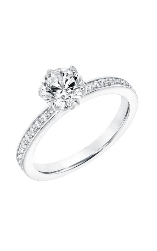 Goldman White Gold Engagement Ring 31-11010ERW-E product image