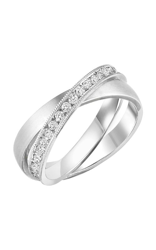 Goldman 2 Tone Rolling Wedding Band 33-8419W-L product image