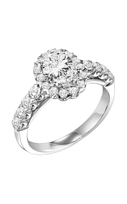 Goldman White Gold Engagement Ring 31-697EVW-E product image