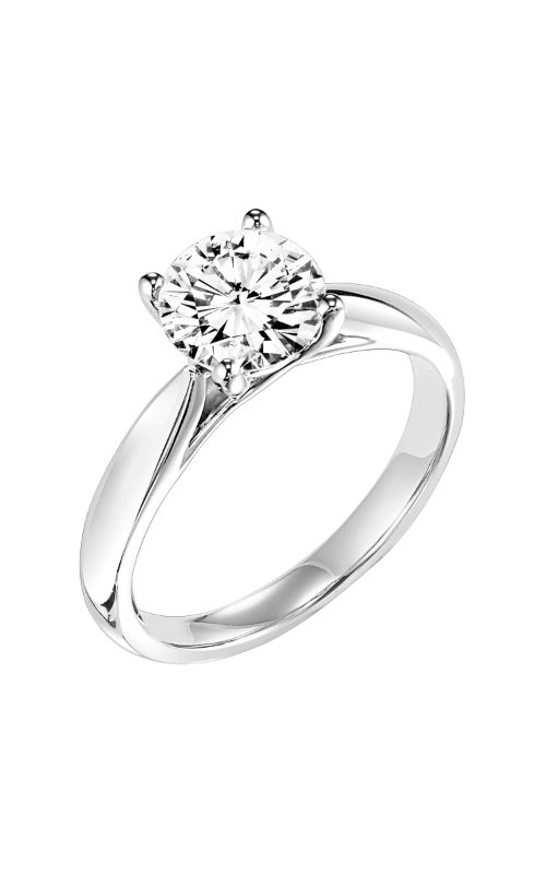 Goldman White Gold Engagement Ring 31-703GRW-E product image