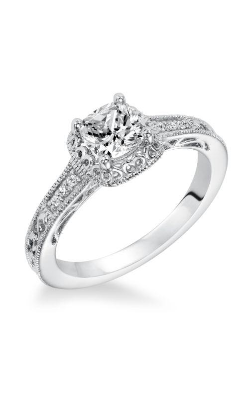 Goldman Halo Engagement Ring 31-924EUW-E product image