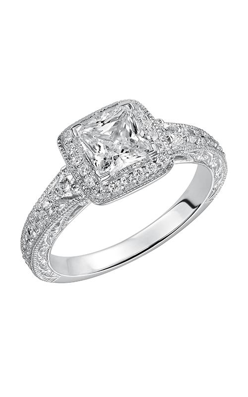Goldman White Gold Engagement Ring 31-788ERW-E product image