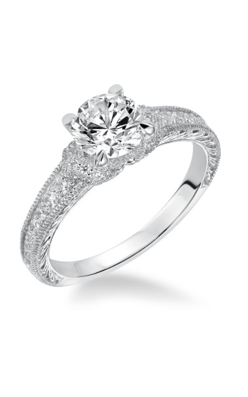 Goldman White Gold Engagement Ring 31-867ERW-E product image