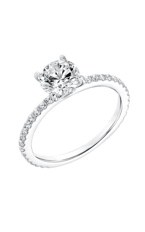 Goldman White Gold Engagement Ring 31-11019ERW-E product image