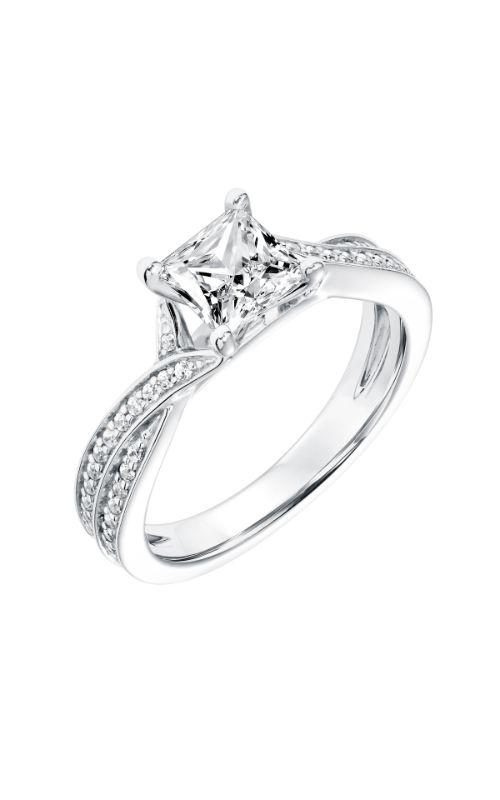 Goldman White Gold Engagement Ring 31-11021ECW-E product image