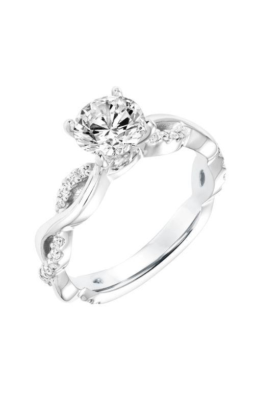 Goldman White Gold Engagement Ring 31-11023ERW-E product image