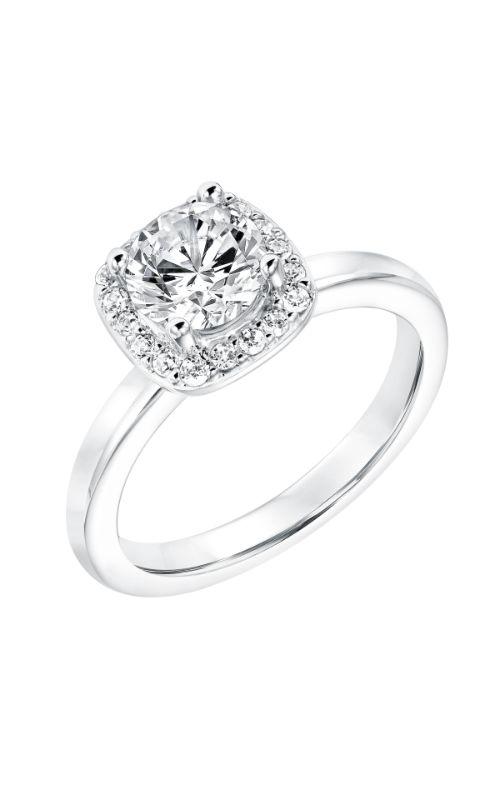 Goldman White Gold Engagement Ring 31-11028ERW-E product image