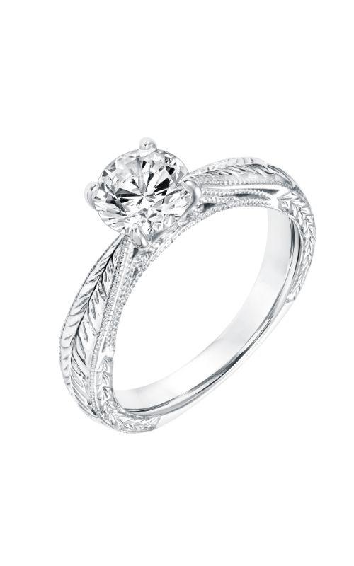 Goldman White Gold Engagement Ring 31-11035ERW-E product image
