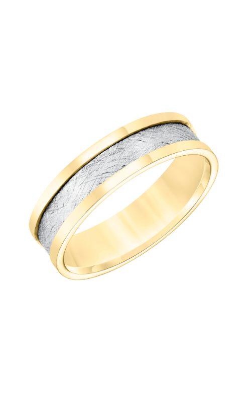 Goldman Engraved Wedding Band 11-8666YW6-G product image