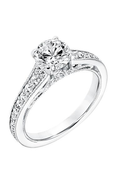 Goldman Vintage Engagement Ring 31-11040DRW-E product image