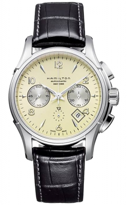 Hamilton Jazzmaster Auto Chrono Watch H32656725 product image