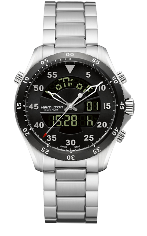 Hamilton Flight Timer Quartz H64554131