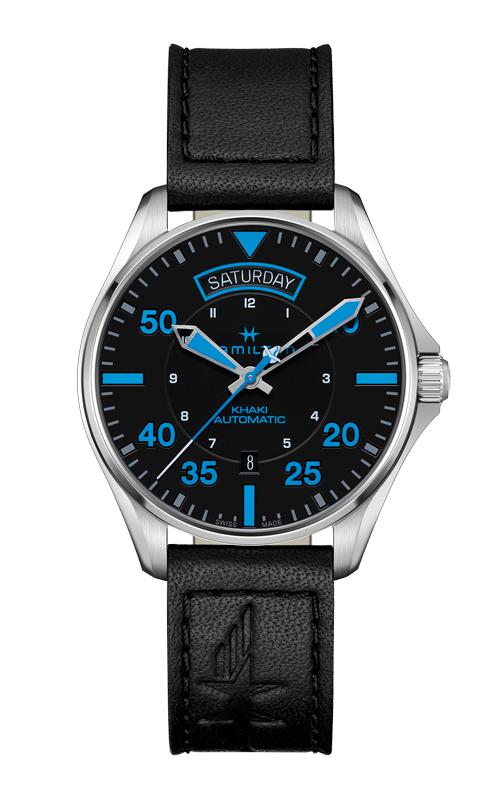 Hamilton Pilot Air Zermatt Day Date Auto Watch H64625731