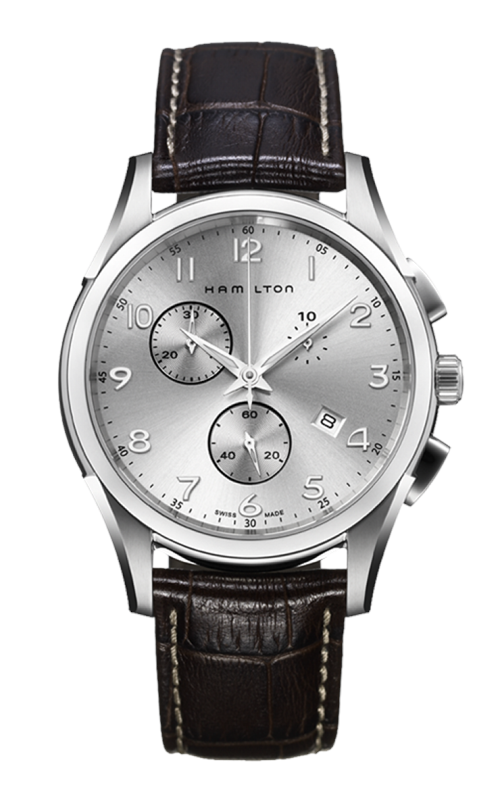 Hamilton Jazzmaster Thinline Chrono Quartz Watch H38612553 product image